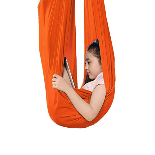 Columpio de Fisioterapia para Interiores Columpio de Yoga aéreo Activo Columpio sensorial de Terapia para Interiores para niños y Adultos con Autismo TDAH Aspergers Ideal para integración se