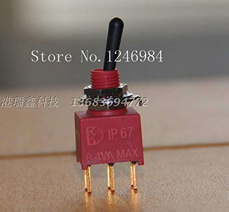 [SA]NE8011 six Foot Two tranches M6.2 Waterproof Toggle Switch Q11 Anti-Static Plastic Handle Taiwan Deli Wei 1AD1-20pcs lot