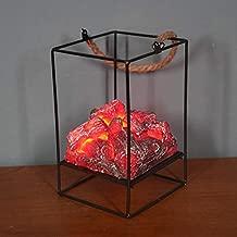 helegeSONG Fireplace Lantern Mini Fireplace Fireplace Lanterns Decorative Fireplace Led Fireplace Lights Battery Operated