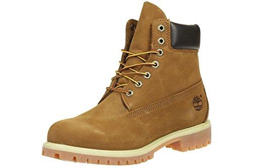 Timberland 6-Inch Premium Boot, Botas para Hombre, Marrón (Rust Nubuck), 40 EU