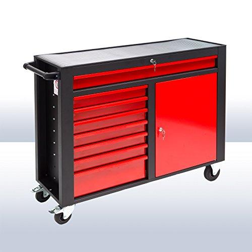 DEMA Werkstattwagen DW8ST schwarz / rot