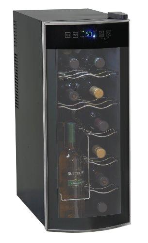 avanti wine fridges Avanti 12 Bottle Thermoelectric Counter Top Wine Cooler - Model EWC1201,Black