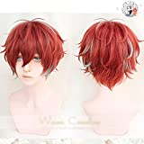 Division Rap Battle Hypnosis Mic Doppo Kannonzaka Wigs Heat Resistant Synthetic Hair Cosplay Costume Wig + Wig Cap