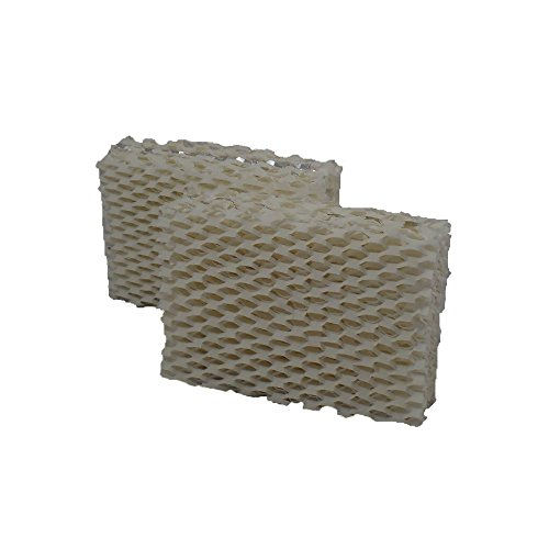 Air Filter Factory 2-Pack PCWF813 PCWF-813 Compatible for Procare Humidifier Wick Filters