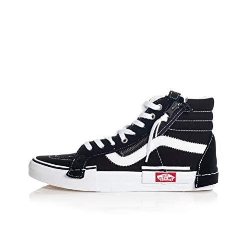 Vans SK8-HI Reissue CA Sneakers Nero Bianco WM16BT (42.5 - Nero)