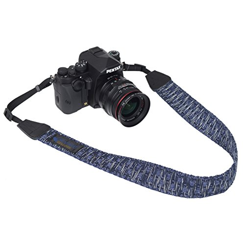 GevaertカメラストラップアースシャギーネイビーVGV-008