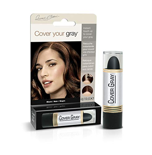 Cover Your Gray Hair Color Stick (6er Pack) Black (Haarfarbe; Highlights)