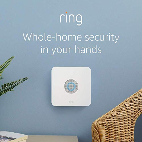 Ring Alarm 5 Piece Kit (1st Gen) – Home Security System with optional 24/7 Professional Monitoring – No long-term contracts – Works with Alexa