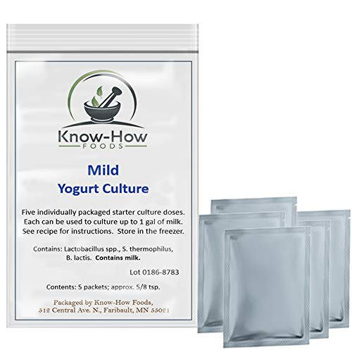 Yogurt Culture - Mild Flavor (5 Packets)