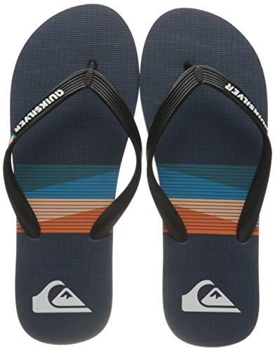 Quiksilver Herren Molokai Seasons Water Shoe, Black Blue Blue, 45 EU