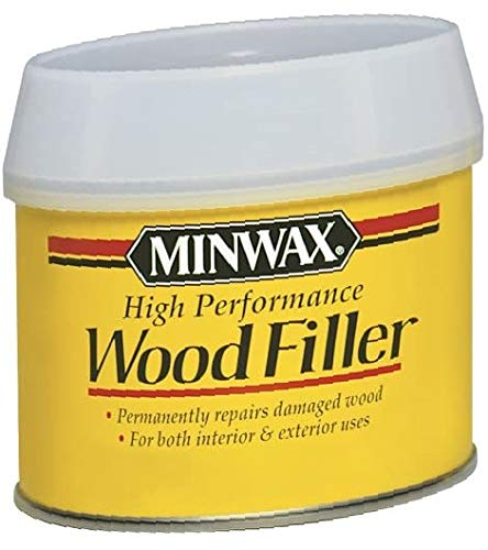 Minwax 21600000 High-Performance Wood Filler, 12-Ounce Can. New.