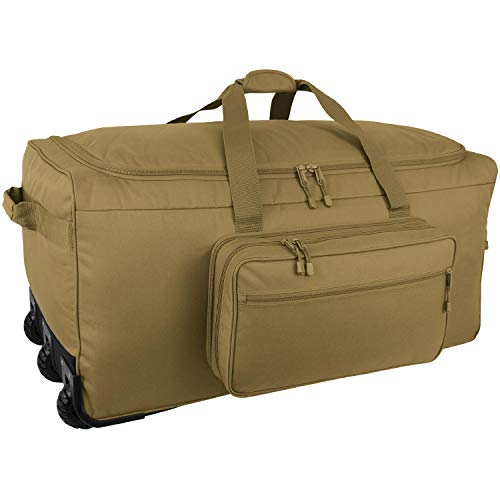 Mercury Tactical XL Monster Deployment Bag, Coyote, 36inx17inx17in, MRC9936-CY