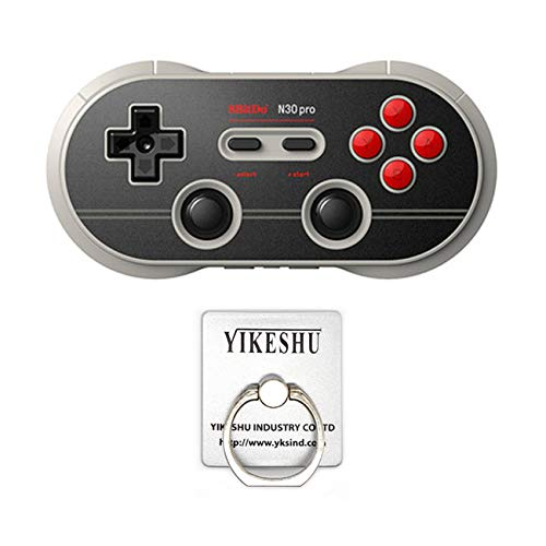 Game Controller, YIKESHU 8Bitdo N30 Pro Wireless Bluetooth Controller Controller Dual Classic Joystick for Nintendo Switch/ Android/Gamepad PC/Mac (N30 pro)