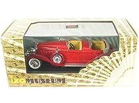 イクソ 1/43 クライスラー インペリアル ルバロン フェートン 1933 レッド