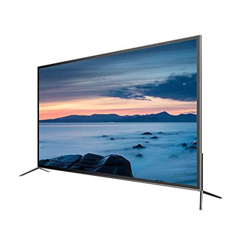 QINGZHUO TV LED De Pantalla Ancha,TV De Red Inteligente 4K,Soporte para WiFi.