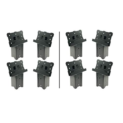 Lowest Prices! Highwild Platform Brackets Multi-Use 4x4 Compound Angle Brackets for Deer Stand, Hunt...