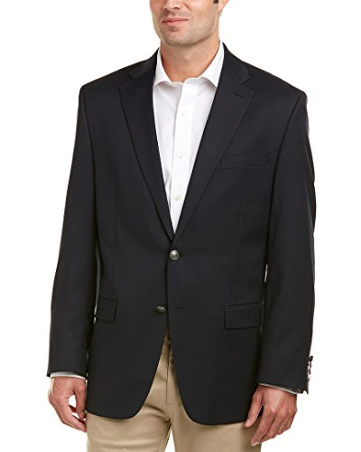 Michael Kors Mens Navy Modern Blazer Technical Performance 40R