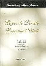 Lições de Direito Processual Civil vol. 3 de Alexandre Freitas Câmara pela LumenJuris (2001)