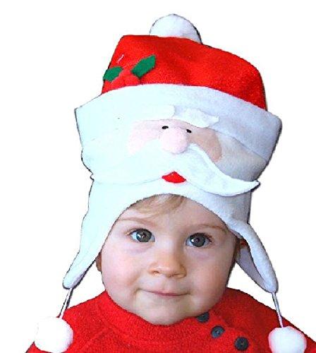 Mondial-fete - Bonnet noël bébé père noël