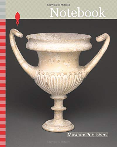 Notebook: Kantharos (Drinking Cup), 310/280 BC, Greek, Apulia, Italy, probably made in Canosa, said to have been found in Tarento, Italy, Apulia, terracotta, unglazed ware, once partially gilded