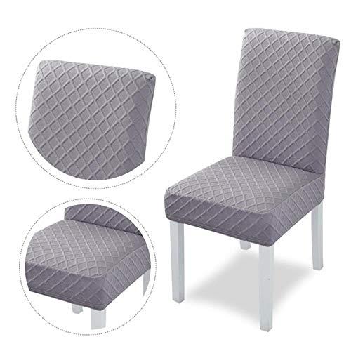 1/2/4 stuks jacquard stretch stoelhoes effen kleur universele verwijderbare eetkamerstoel beschermhoezen voor bruiloft banket hotel, g, Verenigde Staten