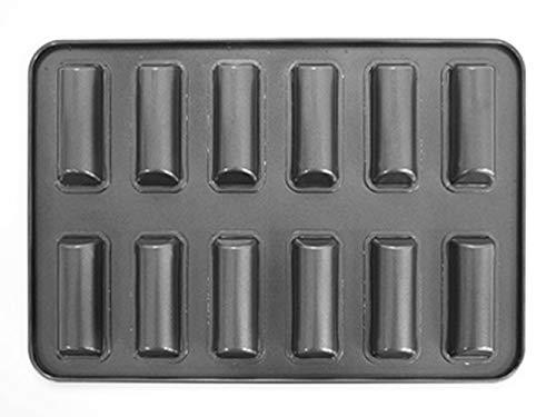 cottaミニスティックフィナンシェ型(12個取)黒2x20x3087753
