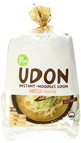 Allgroo U-Dong Nudeln, Miso, 1er Pack (1 x 690 g)