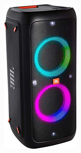 JBL PartyBox 300 High Power Portable Wireless Bluetooth Audio System with Battery - Black (Renewed)
