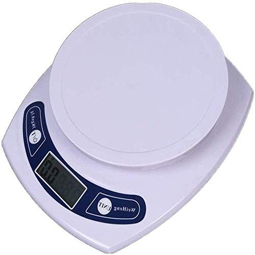 Qinmo Échelle électronique, balance alimentaire numérique, échelles de cuisine électroniques imperméables, facile à conserver un accessoire de cuisson élégant propre, écran LED numérique
