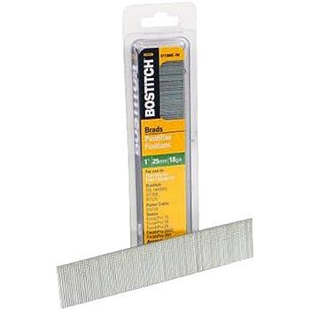 BOSTITCH 18 Gauge Brad Nails, 1-Inch, 1000 per Box (BT1309B-1M)