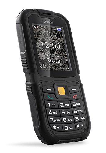 "myPhone Hammer 2 2.2\"" 213g Negro Característica del teléfono - Teléfono móvil (Barra, SIM Doble, 5,59 cm (2.2\""), 2 MP, 1450 mAh, Negro)"