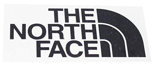 [ザノースフェイス] ロゴステッカー TNF Cutting Sticker ブラック 日本 F (FREE サイズ)