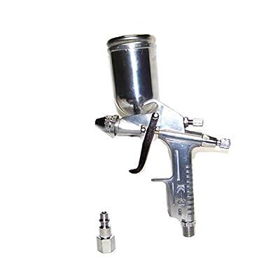 Generic Airbrush Gun Kit,0.3mm 7cc Dual Action Gravity