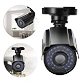 wosume 【𝐒𝐩𝐫𝐢𝐧𝐠 𝐒𝐚𝐥𝐞】 Wireless Outdoor WiFi Security Camera, AHD 2000TVL 1080P HD Waterproof IP66 30 Infrared Light Night Vision Camera Security Cam for Home,Office,School(PAL)