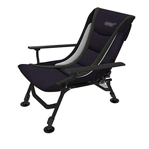 WJXBoos Sillas reclinables de jardín tumbonas sillas reclinables en Negro Silla Plegable Multifuncional (Color: B)