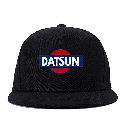 RQJOPE Baseballmütze Sommermode Verstellbarer Hip Hop Hut Nissan Logo Outdoor Sport Street Dance Hut Sonnenschutz-Sportkappe für Frühling und Sommer