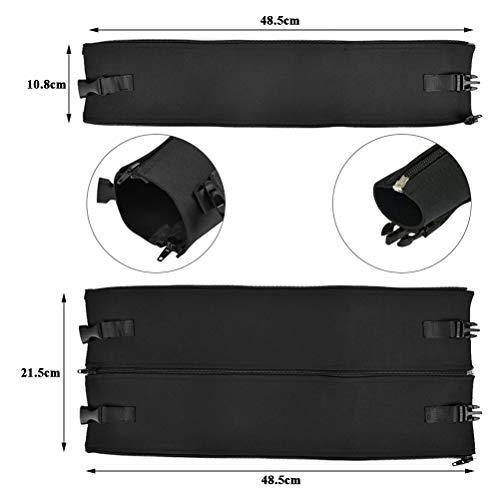 POKIENE 17 Stück Kabelführung Organizer Set - 4 Kabelschlauch & 10 Kabelhalter & 3 Kabelbinder - Kabelclips Selbstklebende für USB Cable Ladekabel, Audiokabel (Schwarz)