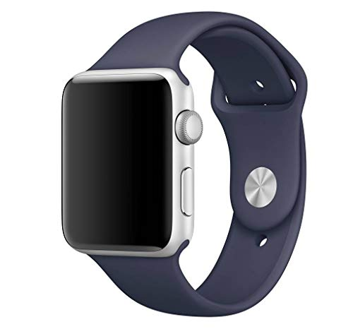 123Watches.nl - Apple watch sport band - middernacht - 38mm en 40mm - SM