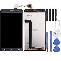 電話商品 Asus ZenFone 2レーザー/ ZE500KL液晶画面+タッチスクリーンデジタイザーアセンブリ 携帯電話製品 (Color : Black)