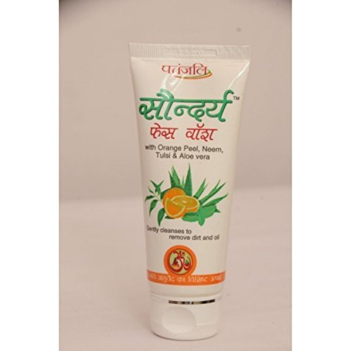 patañjali saundrya Face Wash (Lot de 2)