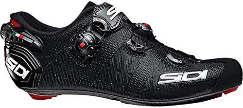 SIDI Scarpe Wire 2 Matt Carbon, Scape Ciclismo Uomo, Nero Opaco, 45