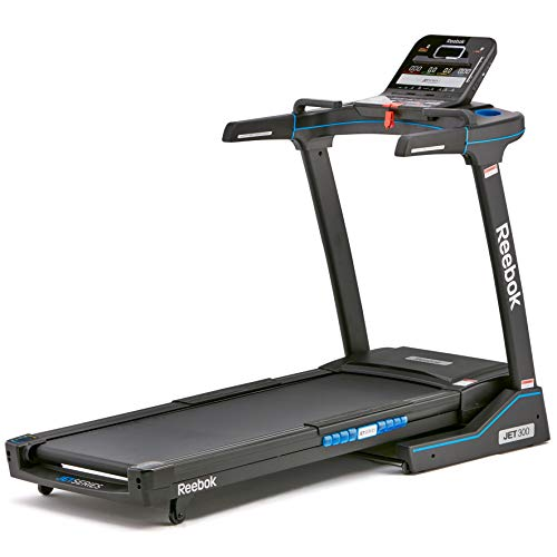 Reebok Jet 300 Series Treadmill + Bluetooth, Black, NA