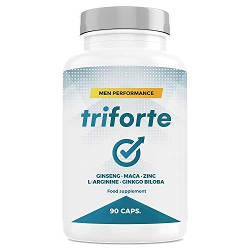 TRIFORTE Men - Contribue à un Taux Normal de Testostérone - 90 Gélules