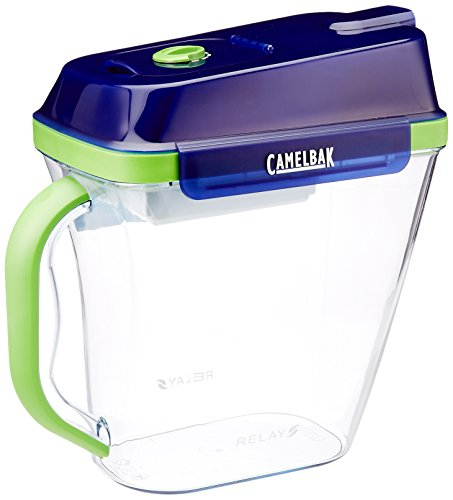 CamelBak 10-Cup Relay Water Filtration Pitcher, Blue