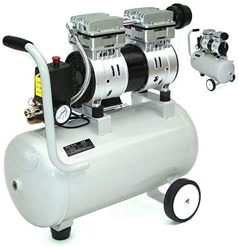 Flüster Kompressor ölfrei 40294 Luftkompressor Druckluft 24L Kessel 750W 64dB AWZ