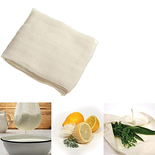 Cheesecloth, Grade 90, 36 Sq Feet, Cotton Cheese Cloth Butter Gauze Cheesecloth Unbleached Cotton Fabricc Absorp Cheesecloth Kitchen Cooking Tools Reusable