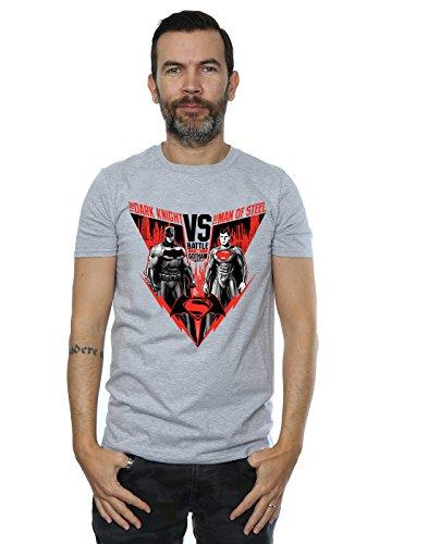 DC Comics hombre Batman v Superman Battle Camiseta