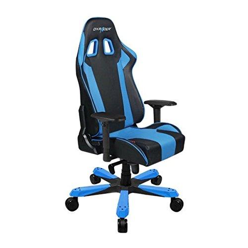 DXRacer Gaming Stuhl, OH/KS06/NB, K-Serie, schwarz-blau, das Original von DX Racer