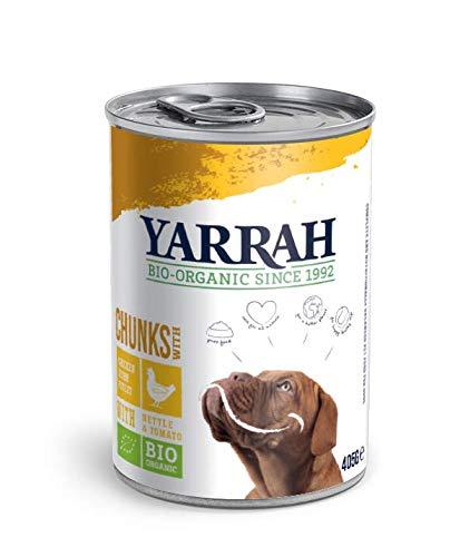 Yarrah Boite Chien Bouchées De Poulet En Sauce Aux Orties Et À La Pour Chien