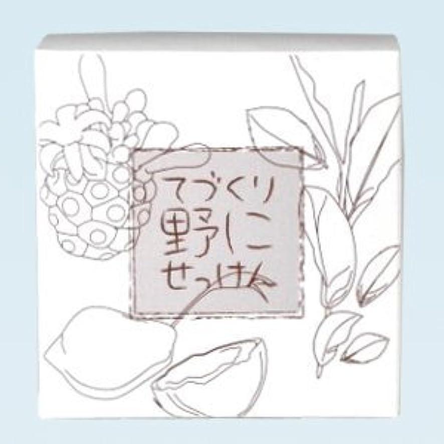 ジョリー馬力組み合わせ緑茶 ノニ石鹸 てづくり野にせっけん(115g)